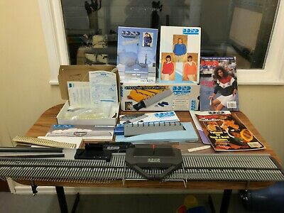 Bond Classic Knitting Machine & Bond Sew Easy In Box With Patterns