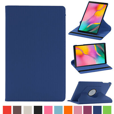 For Samsung Tab A 8.0 2019 SM-T290 T295 PU Leather 360 Rotating Stand Case Cover