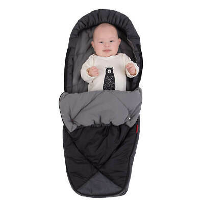 Phil & Teds Snuggle & Snooze Sleeping Bag / Footmuff in Charcoal
