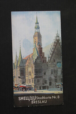 Old Card City Map Wroclaw No 8 Old Vintage Collector