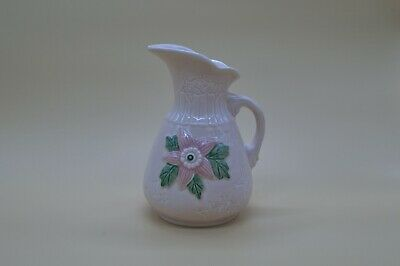 Hull Pottery USA 6-6 Pitcher in Pink Star Pattern