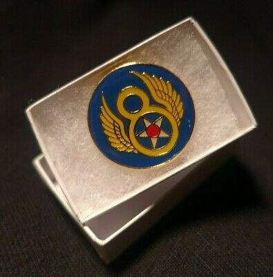 WWII ARMY Air Force B-17 FLYING FORTRESS Eighth Air Force 8th USAAF LAPEL PIN