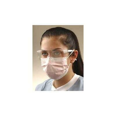 Crosstex International GCLPK Isolite Earloop Face Masks Pink 50/Bx