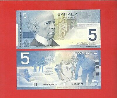 Canda 2002 printed in 2005 $5 Jenkins/Dodge -HOH- pick #101d Uncirculated