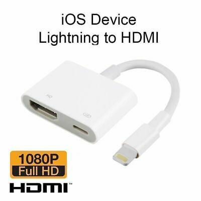 Genuine For Apple Lightning To Hdmi Digital AV HDTV Monitor Adapter Md826am/a TI