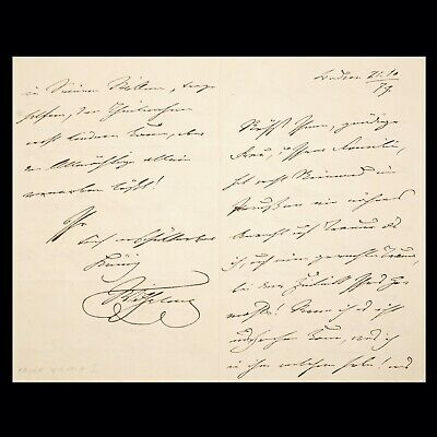 KAISER Emperor King WILHELM II Signed Document Royalty Appointment Order Letter
