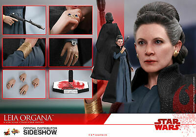Hot Toys LEIA ORGANA 1/6 Scale Figure Star Wars Ep 8 The Last Jedi 903333 MMS459