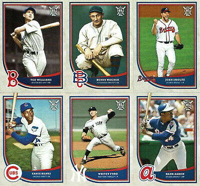 2018 Topps Big League STARS and LEAGUE LEADERS - You Pick the Cards FREE SHIP!