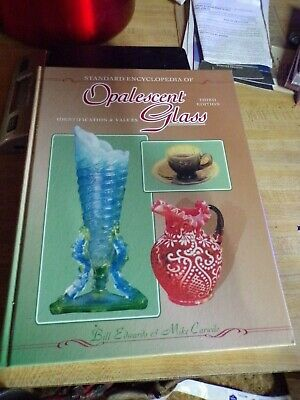 opalescent glass collectors guide price guide reference book