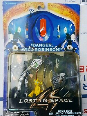 1997 LOST IN SPACE Movie JUDY Action Figure Cryo-Suit MOC Trendmasters astronaut