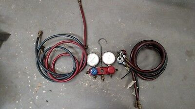 SNAP ON Refrigerant Manifold Gauge Set  Air Condition