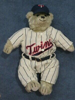 1965 Minnesota Twins Cooperstown Bear - Numbered Limited Edition