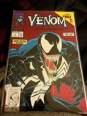 Venom: Lethal Protector #1 VF/NM-  Condition Marvel Comics 1993 Limited Series