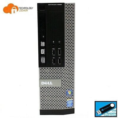Dell Optiplex 9020 SFF Desktop PC Intel i5-4590 8GB RAM 500GB Win 10 Wifi USB