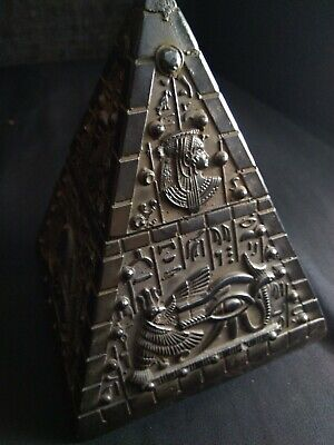 RARE ANTIQUE ANCIENT EGYPTIAN Statue stone healing black pyramid BC