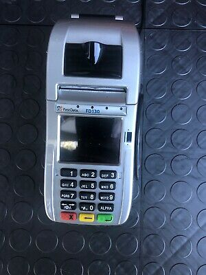 FIRST DATA FD130 Credit Card Processing Terminal With Chip