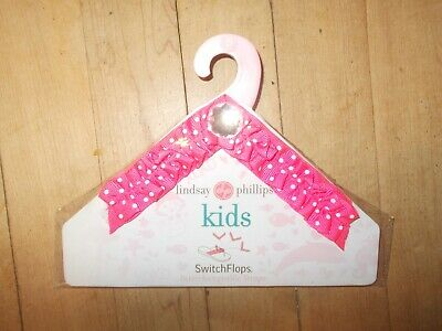 NWT LINDSAY PHILLIPS Holland Switchflops Interchangeable Strap Sz Small KIDS