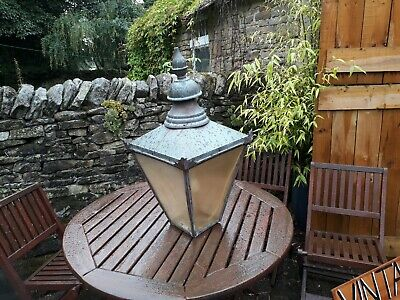 Outdoor Copper Lamp /  Lantern / Light Vintage