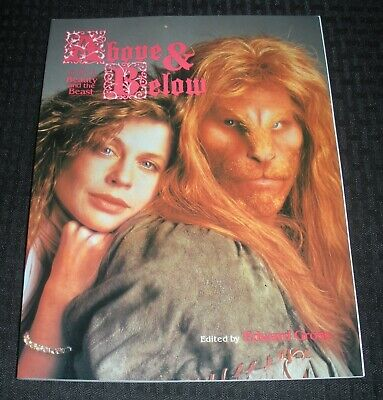 1990 ABOVE & BELOW Beauty and the Beast Guide VF 8.0 1st image SC