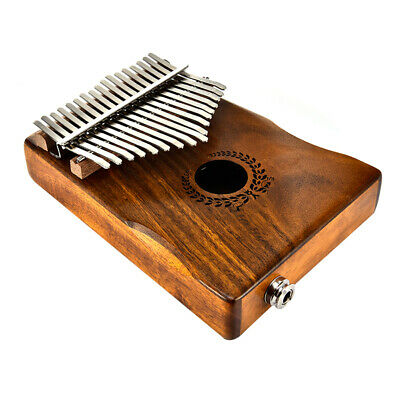 17 Keys Kalimba African Solid Wood Thumb Piano Finger Percussion Gifts
