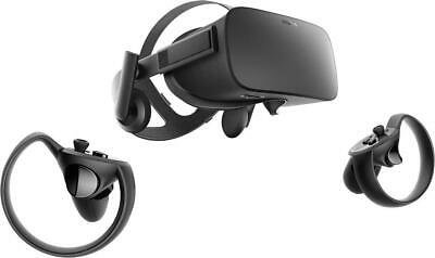 Oculus Rift  VR Virtual reality headset with 2 Touch Controllers