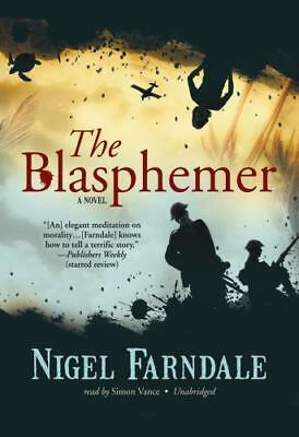 The Blasphemer by Nigel Farndale 10 Cassettes, Preowned 13 1/2 Hrs, Preowned