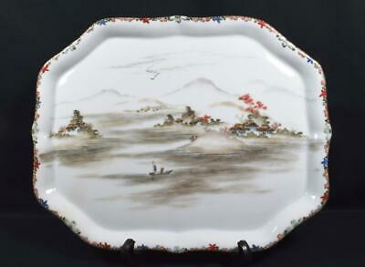Antique Chinese Porcelain Tray Late Qing/Early Republic