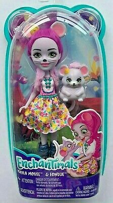Enchantimals Wave 4 Mayla Mouse Doll and Pet Fondue Playset