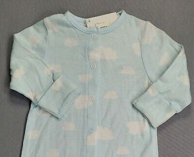 New Rosie Pope 3 Month Baby Girl/boy Blue Clouds Gown/outfit