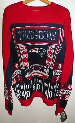 hot sale online 3c29a 2ac8c NFL MENS LIGHT Up Ugly Christmas Sweater - $54.95 | PicClick