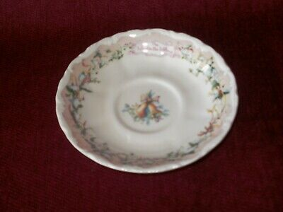"""Royal Albert, saucer """"The Carol singers"""" from the Wind in the Willows collection"""
