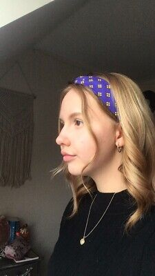 Royal Blue Headband -Very Urban Outfitters/ Brandy Melville. Handmade By Me!