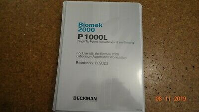 Beckman Biomek 2000 P 1000L Single Tip Pipette Tool | Untested