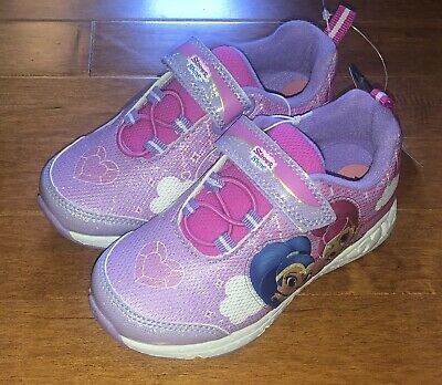 Shimmer and Shine Toddler Girl Purple Tennis Shoes Sneakers New Size 10