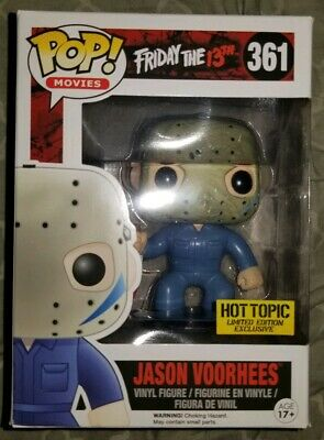 Funko Pop! Movies Friday The 13th #361 Jason Vorhees Hot Topic Exc. Mystery Pop!