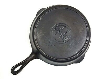 Antique Griswold Erie 701E Cast Iron Frying Pan Heat Ring
