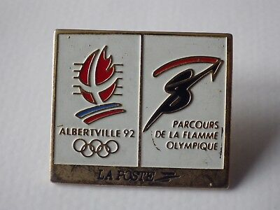 Pin's Vintage + Attachment Pin's Games Olympics Albertville 92/K058