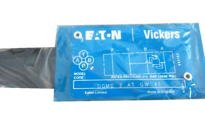 H● Vickers DGMC-3-AT-GW-41 Superimposed Valve New.