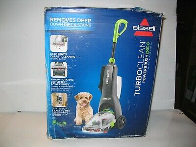 NEW BISSELL Turboclean Powerbrush Pet Upright Carpet Cleaner Machine 2085