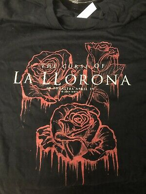 The Curse of La llorona T Shirt  Rare Free Ship