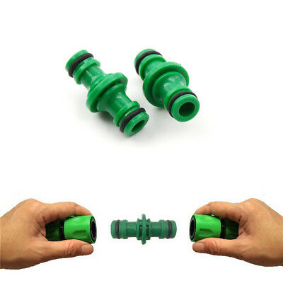 5Pcs 1/2 Water Hose Connector Quick Connectors Garden Tap Joiner Joint Tool HU