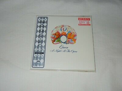 Queen JAPAN A Night at the Opera (1975) Mini LP CD