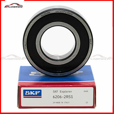 1 Pcs SKF 6002 2RS 2RSH Rubber Seals Ball Bearing Made in Italy 15x32x9mm NSK RS