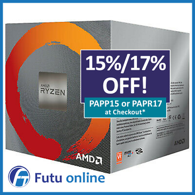 AMD Ryzen 5 3600 Processor 3.6GHz AM4 6 Core 12 Thread 32MB Cache Desktop CPU