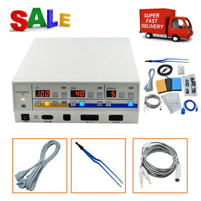 <Top Deal>High Frequency Electrosurgical Unit Diathermy Machine Cautery Leep FDA