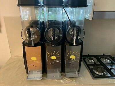 Commercial Triple Slushie Machine Near New Excellent Condition Highest Quality