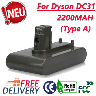 For Dyson DC31 22.2V 2.2AH Battery type A DC34 DC44 Handheld Vacuum Cleaner SK
