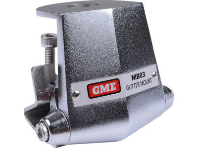GME MB03 Antenna M/Bracket, Adjustable Gutter