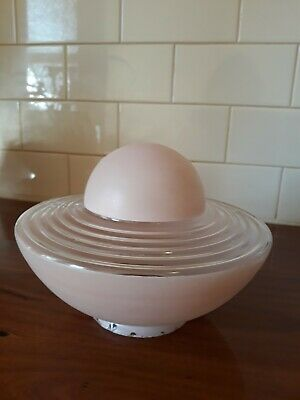 Art Deco Retro Saucer Beehive Style Light Shade