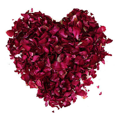 100/200g Dried Rose Petals Natural Dry Flower Petal Spa Whitening Shower Bath Ew